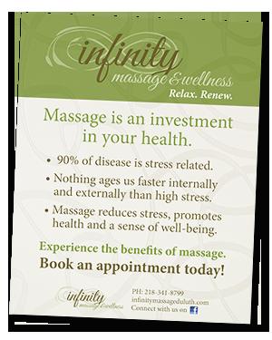 Infinity Benefits of Massage